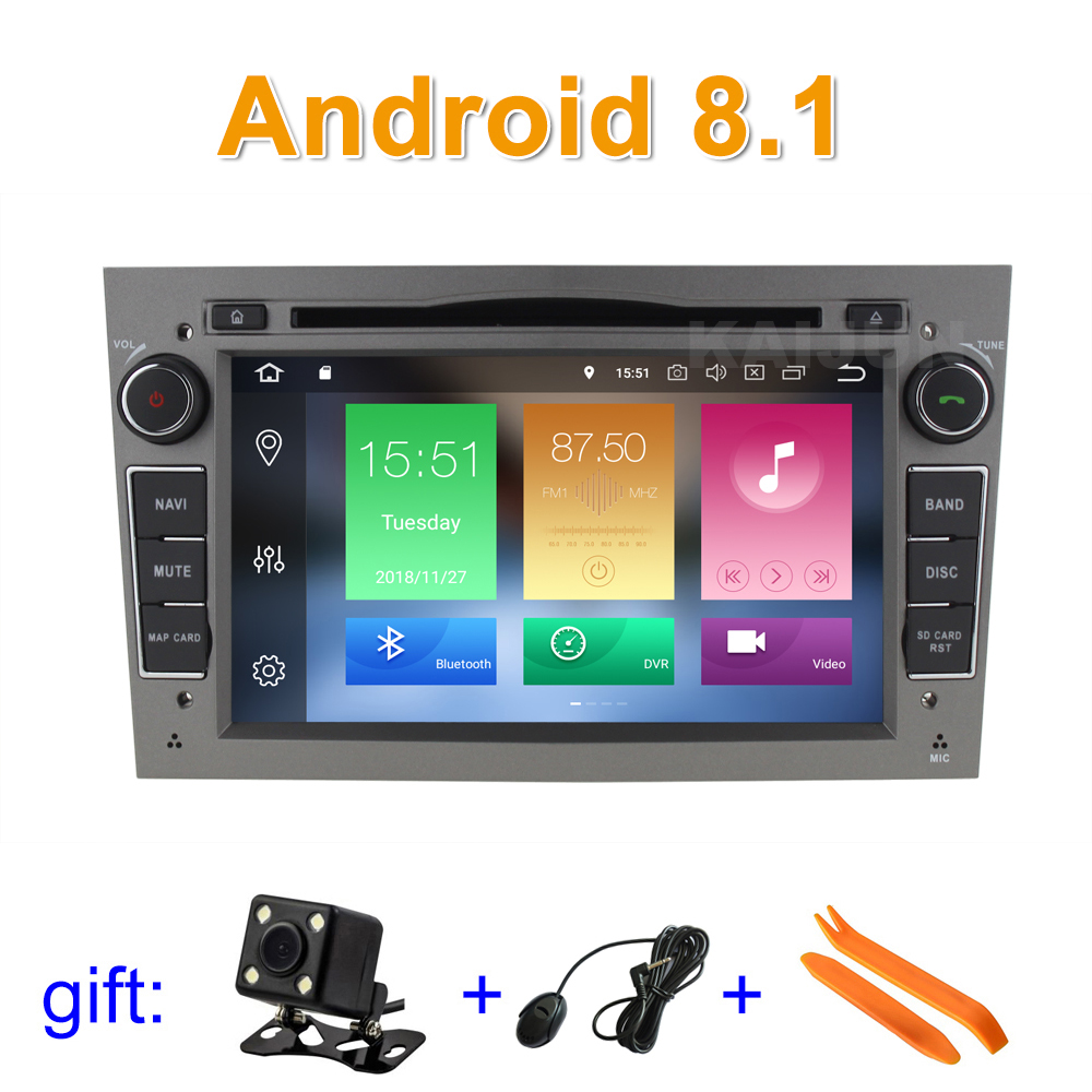Android 8 1 Car DVD font b GPS b font Radio stereo for Opel Vauxhall Astra