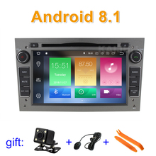 Android 8.1 Car DVD GPS Radio stereo for Opel Vauxhall Astra H G J Vectra Antara Zafira Corsa with wifi BT