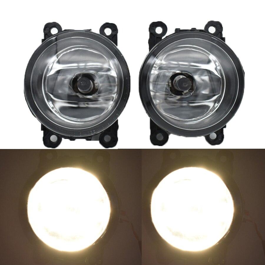 2PCS H11 Car LED Fog Light DRL Daytime Running Lamp Halogen Bulb 12V Styling For H-onda Pilot 3.5L V6 2012-2015