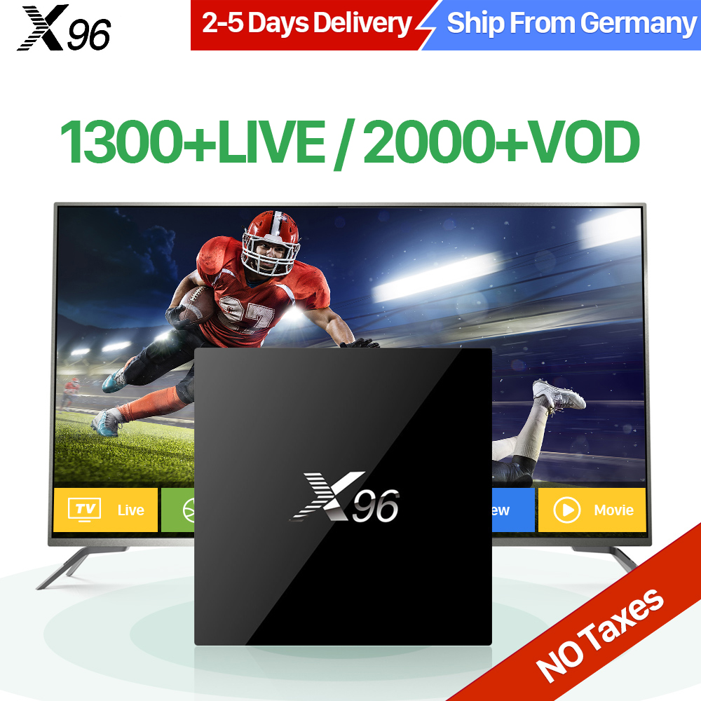 X96 IPTV TV Box Android 6.0 Arabric French IPTV QHDTV Subscription Europe Spain Portugal UK Turkish Smart Media Player