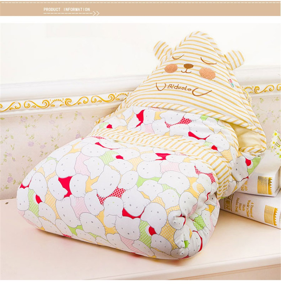 Baby Wrapped Blanket Warm Care (15)