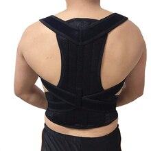 Adjustable Adult Corset Posture Correction Belt Sport Back Posture Corrector Shoulder Lumbar Brace Spine Support Belt цена 2017