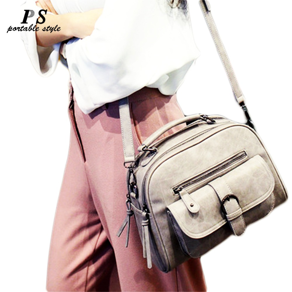 Fashion PU Leather Shoulder Bag Classic Soft Women Messenger Bag Famous Designer Women Handbag Travel Female Crossbody Bags 2018 все цены
