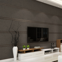 Modern Simple Suede Marble Stripes Wallpaper For Walls Roll Papel De Parede 3D Non Woven Desktop
