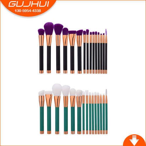 15 Make-up Brush Sets, Brush Beauty Tools, Make-up Tools, Hot Boutique, Factory Outlets Rose Gold тушь make up factory make up factory ma120lwhdr04