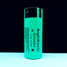 цена High Quality NightKonic 1 Piece 26650 Battery 3.7V  5000mAh Li-ion Rechargeable Battery онлайн в 2017 году