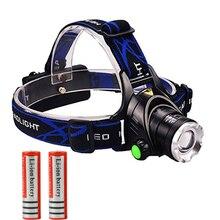 2000Lumen Headlamp Zoomable CREE XML T6 LED Zoom Headlight Rechargeable Head light lamp Flashlight Torch 18650
