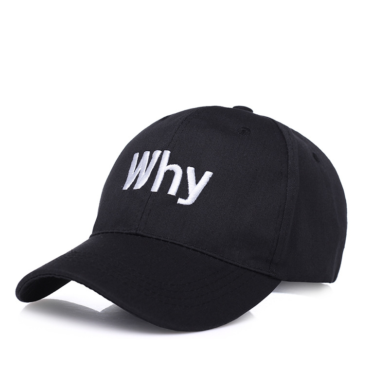 KUYOMENS new arrival WHY letter embroidery baseball cap women snapback hat adjustable men fashion Dad hats wholesale fashion letter hats gorros bonnets winter cap women men skullies beanie female hiphop knitted hat toucas