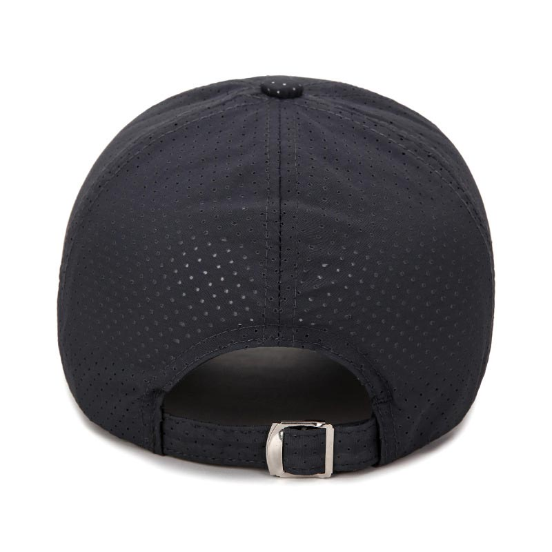 2471cfb8de8 Cymenwang Fashion Women Baseball Caps Men Breathable Hole Women Sports  Snapback Male Cap Brim Hiphop Fast Drying Fittid Hats -in Men s Baseball  Caps from ...