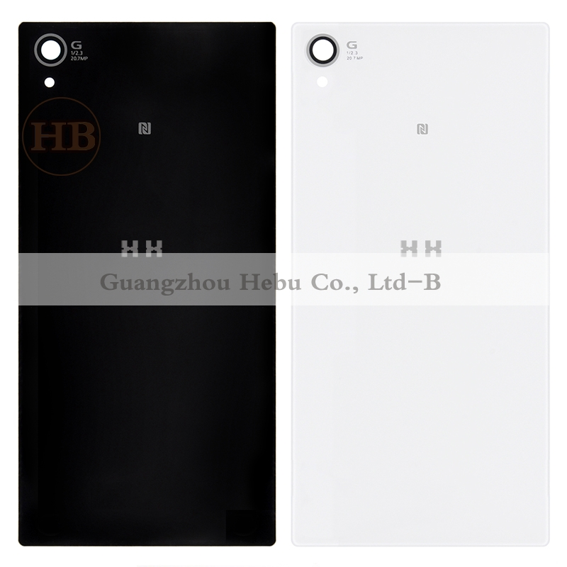 Free shipping HH For SONY Xperia Z1 L39H Case C6902 C6903 C6906 C6943 Glass Battery Door Housing Rear Mobile Phone