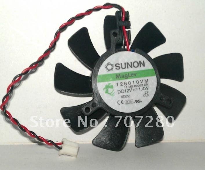 Original For Sunon 6010 12v 1.4W 126010vm Video Card Cooling Fan