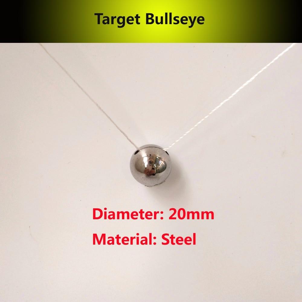 1pcs/lot High Quality Steel Shooting Target Small Target Catapult Archery Sports Shooting Hunting Steel Target Bullseye