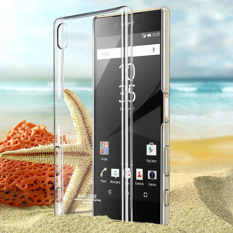 IMAK Brand sFor Sony Xperia Z5 Premium Case Clear Crystal PC Hard Back Cover Case for Sony Xperia Z5 Premium (5.5 inch)