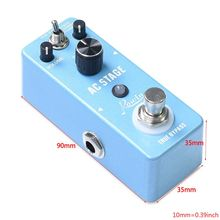 цена на ROWIN Guitar Effects Classical AC Stage Acoustic Effects Pedal Guitar True Bypass Design Acoustic Guitar Simulation Effects