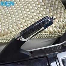 Автомобильные принадлежности, чехол для ручного тормоза, черный чехол, декоративный чехол для Golf mk6 Jetta MK5 GTI Scirocco Mazda