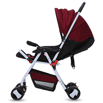 HOT SALE Baby Stroller Foldable Infant Pram Umbrella Cart Lightweight Folding Stroller With Universal Casters 4 Seasons 3colors Activity & Gear