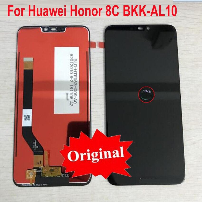 Original meilleur écran LCD écran tactile numériseur assemblée capteur pour Huawei Honor 8C BKK-AL10/Honor Play 8C BKK-AL00 BKK-TL00