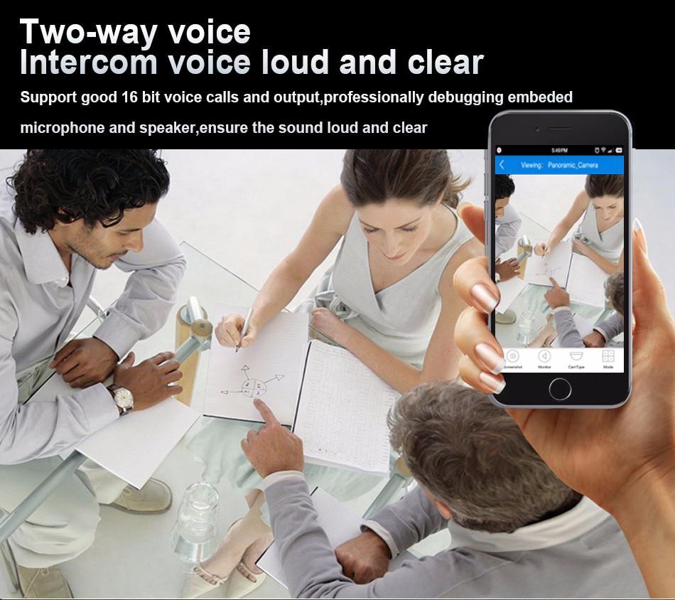 Smar Wifi Outdoor IP camera 960P 720P Waterproof 1.31.0MP Wireless Security Camera Two Way Audio TF Card Record P2P ONVIF (4)