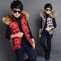 The New 2016 Movement Child Camouflage Vest Vest Boy Winter Coat Children Children's Clothes