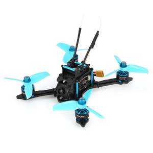 HGLRC XJB-145MM FPV Racing Drone with OSD Omnibus F4 28A 2-4S Blheli_S ESC 25100200350mW Switchable VTX BNF Version