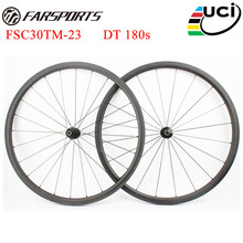 Top end DT wheels ! Farsports road wheels with DT 180s hubs & Sapim cx-ray , FSC30TM-23 road bike wheels best performance