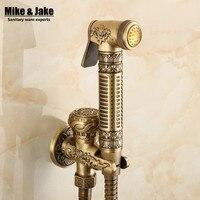 Antique Bidet Faucet Shower Bathroom Shattaf Portable Bidet Shower Toilet Bidet Faucet ABS Bidet Shower Shower
