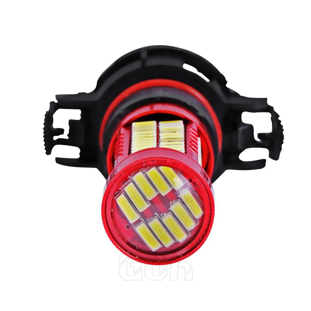 10 piezas H11 H7 H4 H16 led 106SMD 4014 LED fogLamp led Luz - Luces del coche - foto 5