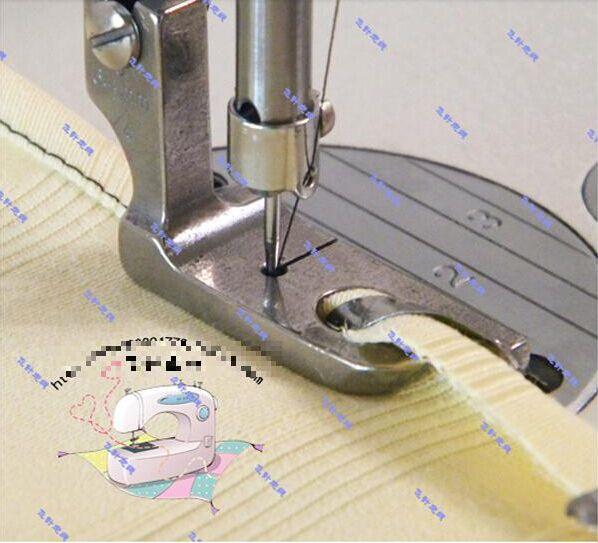 Industrial Sewing Presser Feet Thin Fabric Use Hemmer Foot 4040=4040MM Enchanting Juki Sewing Machine Presser Feet