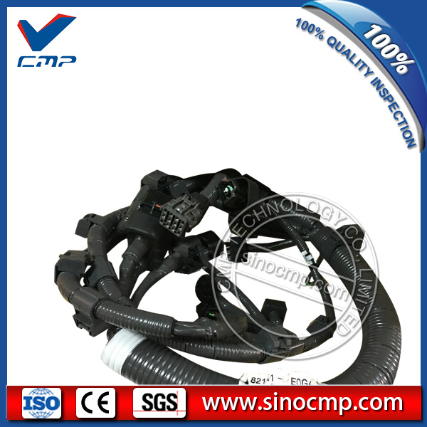 SK200 8 Engine Wiring Harness VH82121E0G40 for Kobelco Excavator aliexpress com buy sk200 8 engine wiring harness vh82121e0g40 where to buy engine wiring harness at n-0.co