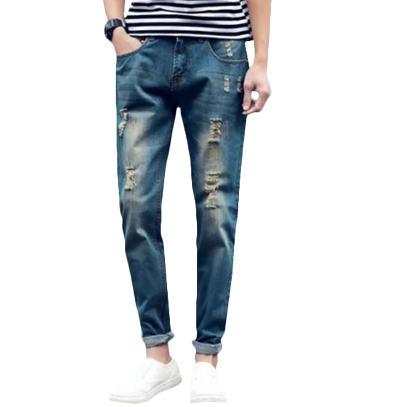Mens Jeans Holes Promotion-Shop for Promotional Mens Jeans Holes ...