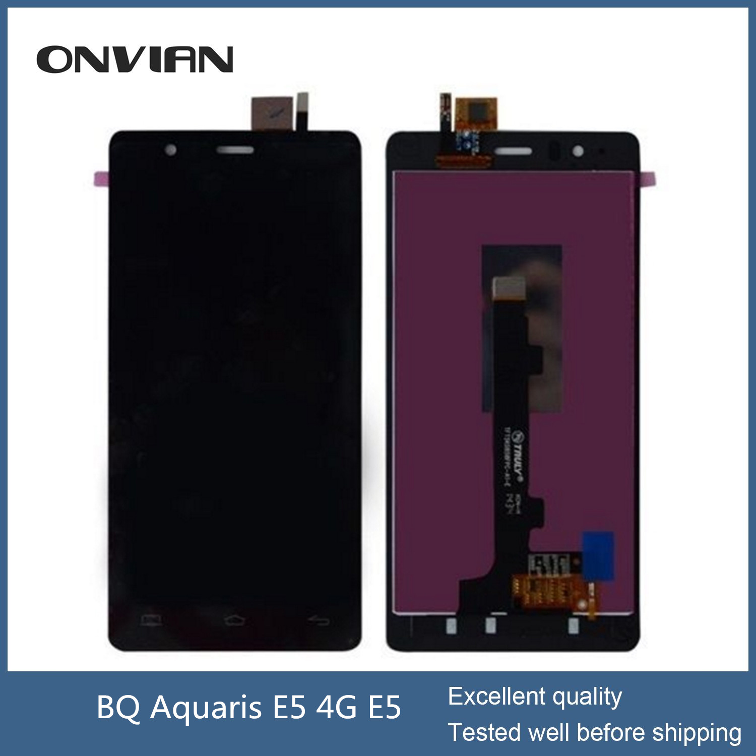BQ Aquaris E5 TFT5K0982FPC-A2-E LCD Display Touch Screen Digitizer Assembly Aquaris E5HD 0982 5K0982 lcd Replacement