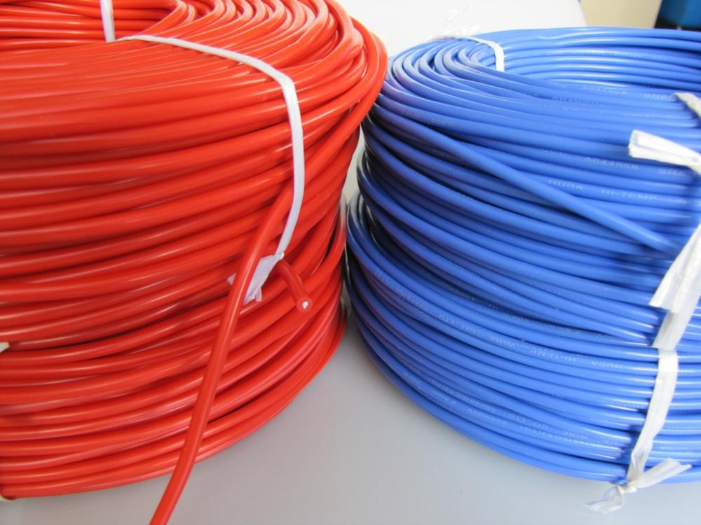 цены 1meter Red Black Blue12# 10# 12AWG 10AWG Heatproof Soft Silicone Silica Gel Wire Connect Cable For RC Model Battery Part