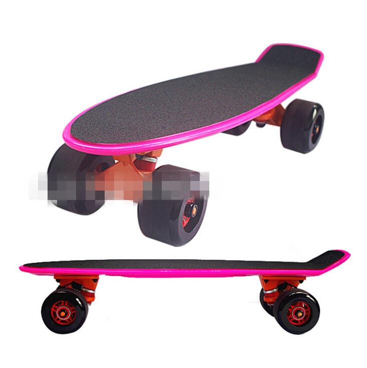 74L-88 Freeshipping 56x9cm Children's skateboard Brush street edge Highway skateboard fish plate Deck Single become warped plate боди edge street edge street ed008ewsqf15
