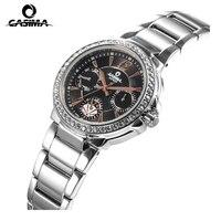 Luxury Brand CASIMA Women Quartz Watches montre femme Fashion Diamond Crystal Ladies Watch waterproof 50m reloj mujer