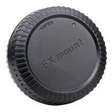 10 זוגות מצלמה מכסה גוף + עדשה האחורית שווי עבור FX X X ההר 1 X E1 X10 XF1 עם מספר מעקב