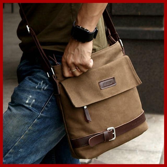 2018 Latest Arrival Brand Specials Messenger Bag Men Casual Carry Design Cotton Canvas Handbag Shoulder