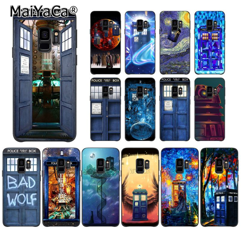 Cellphones & Telecommunications Phone Bags & Cases Maiyaca Tardis Box Doctor Who Diy Painted Phone Case For Samsung Galaxy S9 Plus S7 Edge S6 Edge Plus S10 S8 Plus Case 2019 Official
