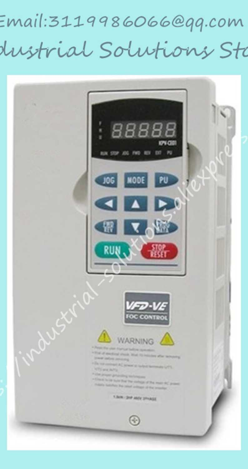 все цены на  Delta Inverter Delta VE Series Of High Frequency Converter 30kw 40HP 3PHASE 380V 600Hz Inverter VFD300V43A-2 New  онлайн