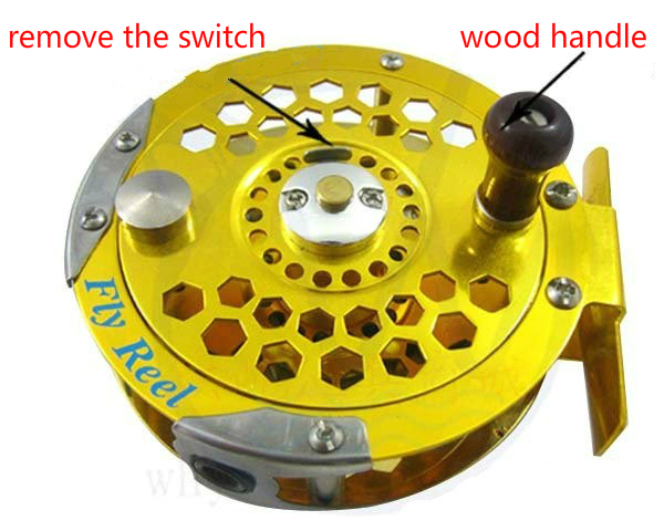 De înaltă calitate full metal HB800 de pescuit la tambur roata de - Pescuit