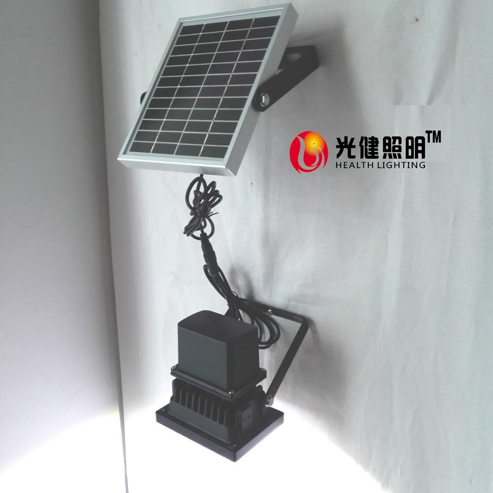 Automatizálás 5W Solar garden Light Solar éjszakai lámpa kültéri kerti udvar falra