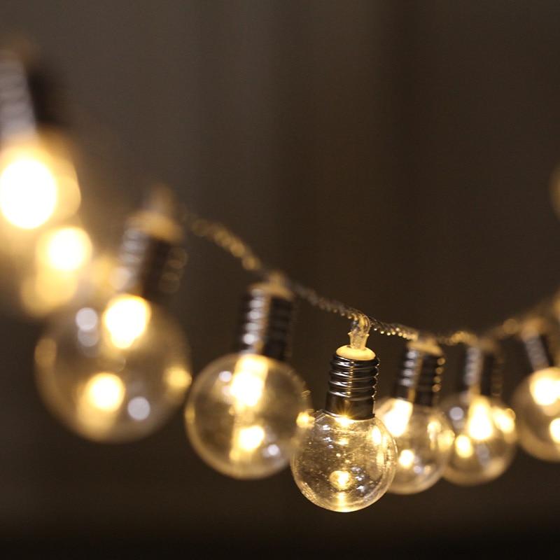 20 Led String Lights Globe Connectable Festoon Led Holiday