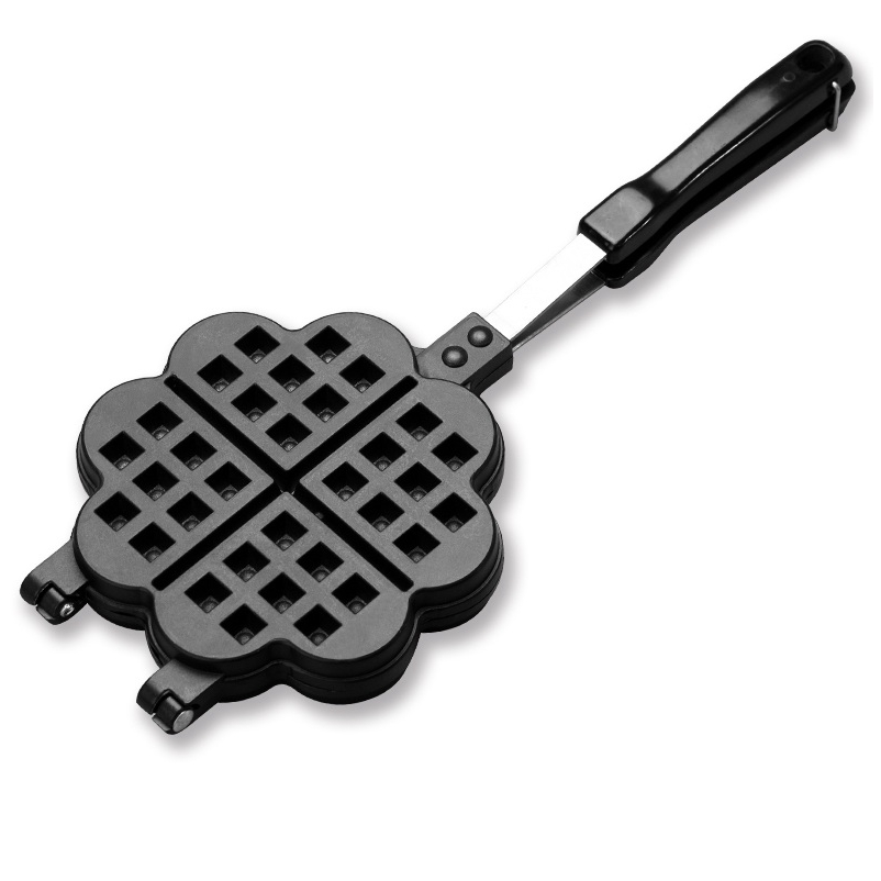 DMWD DIY Heart Shape Waffle Makers for Kids Cake Mould Metal Waffle Mould Bakeware Set Nonstick Baking Mold Set kitchen baking waffle mold non stick cake mould diy waffle maker