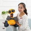 Free shipping Orignal Movie WALL-E EVE And WALL E Stuffed Soft Plush Toy Doll 35CM