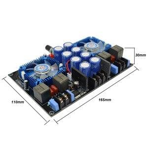 Image 3 - Lusya Dual core TDA8954TH Digital audio Amplifier 420W+420W 2.0 stereo Power amplificador audio With fan AC24V B8 005