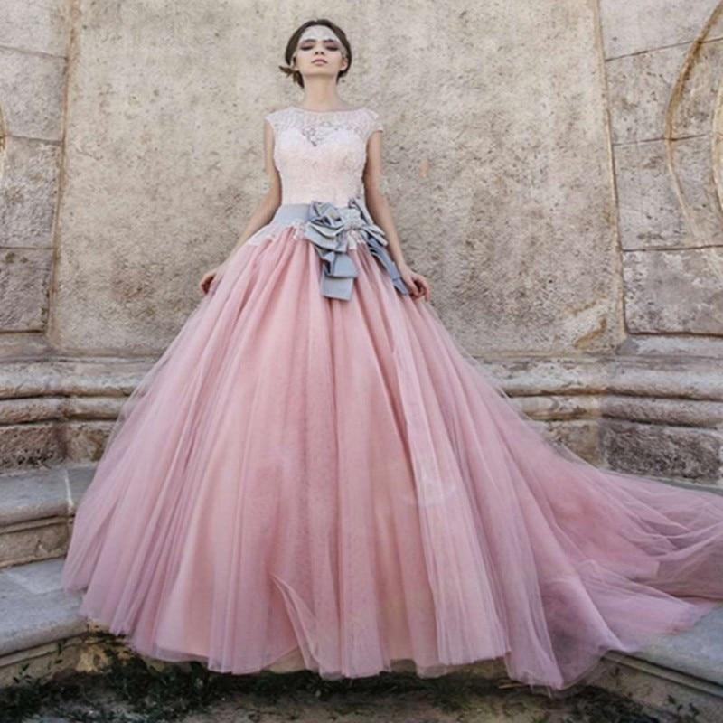 Lujo Bola Corta Vestidos De Boda Del Vestido Ideas Ornamento ...