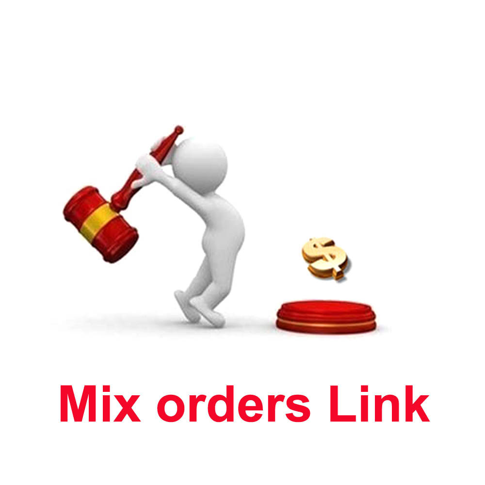 Órdenes de la mezcla enlaces pagar diferencia de precio o transporte orden enlace dedicado