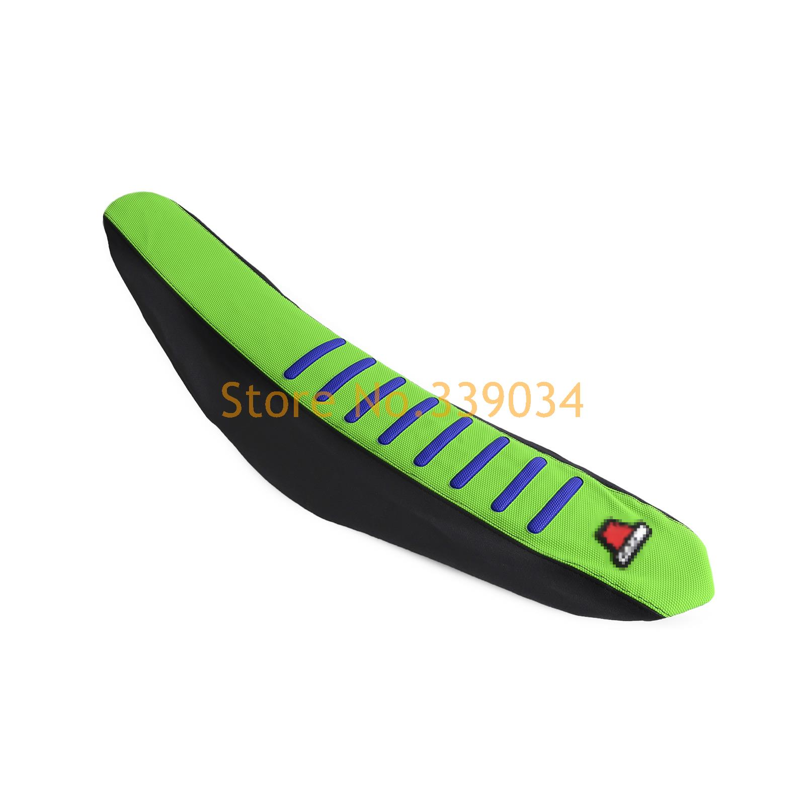 Durable Gripper Seat Cover Green For Kawasaki KX250F 2013 2014 2015 2016 KX450F 2012-2015
