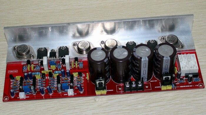 MOSFET (2SK2955,2SJ554) 2.0 (PMA-S1 imitation) power amplifier board 110W+110W 150W*2