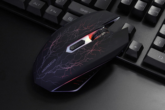 Rechargeable Wireless LED Optical Silent Gaming Mouse