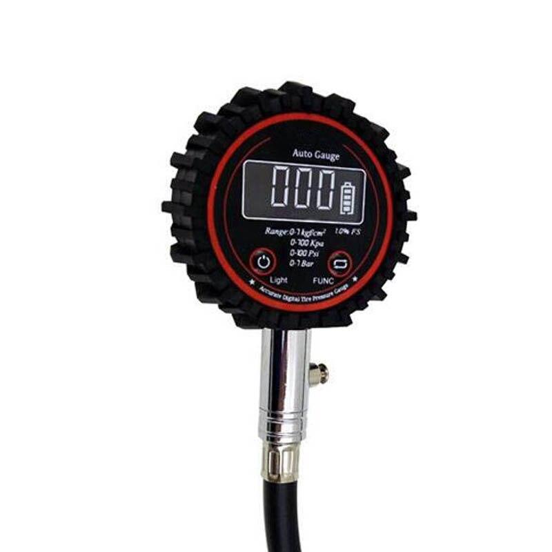 2019 auto Reifen Manometer Motorrad Digital Air Auto Reifen Meter Tester CSL88